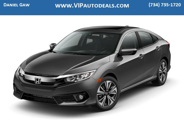 2018 Honda Civic EX-L for sale in Monroe, MI