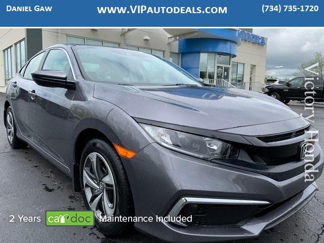 2019 Honda Civic LX for sale in Monroe, MI