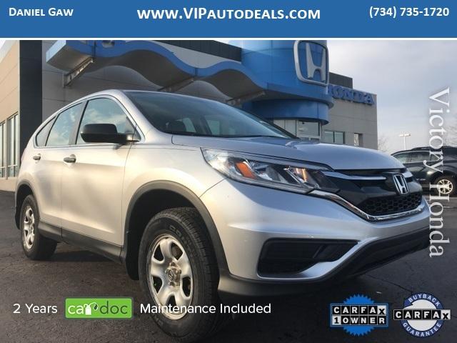 2016 Honda CR-V LX for sale in Monroe, MI
