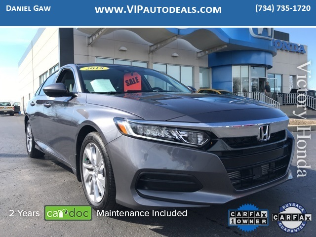 2018 Honda Accord LX for sale in Monroe, MI