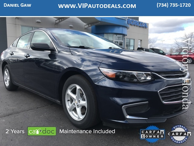 2016 Chevrolet Malibu LS for sale in Monroe, MI