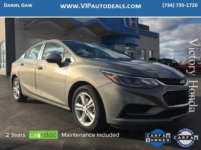2017 Chevrolet Cruze LT for sale in Monroe, MI