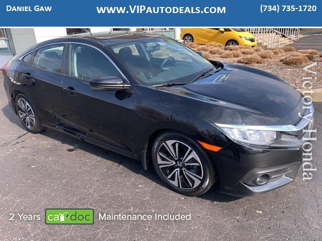 2016 Honda Civic EX-T for sale in Monroe, MI