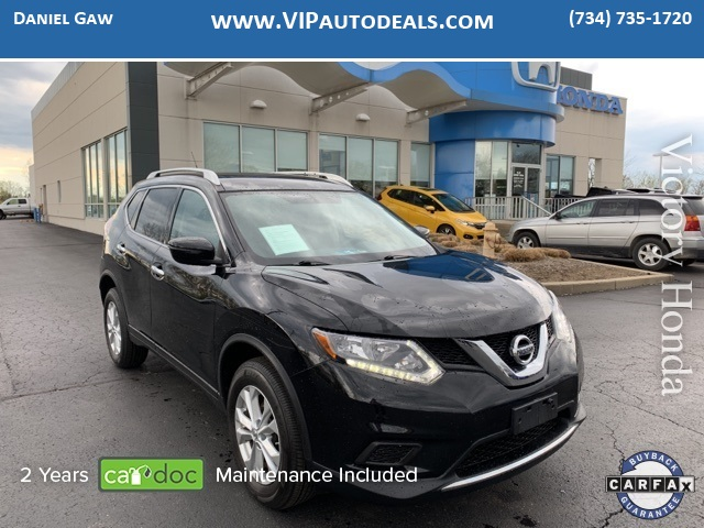 2016 Nissan Rogue SV for sale in Monroe, MI