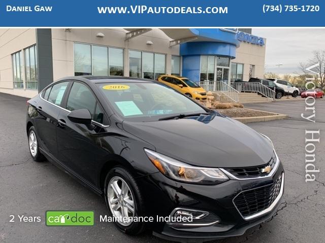 2016 Chevrolet Cruze LT for sale in Monroe, MI