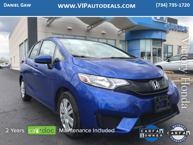 2016 Honda Fit LX for sale in Monroe, MI