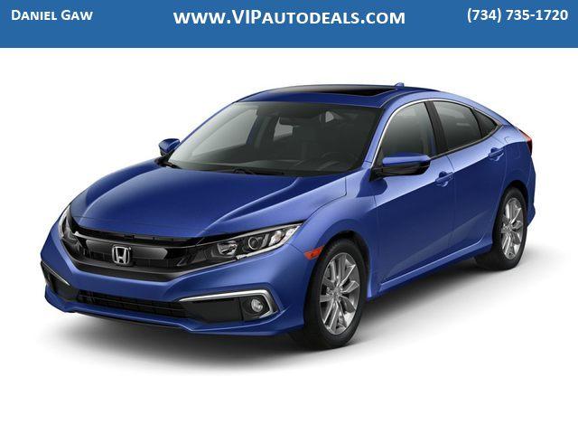 2019 Honda Civic EX for sale in Monroe, MI
