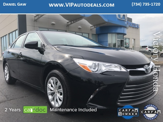 2016 Toyota Camry LE for sale in Monroe, MI