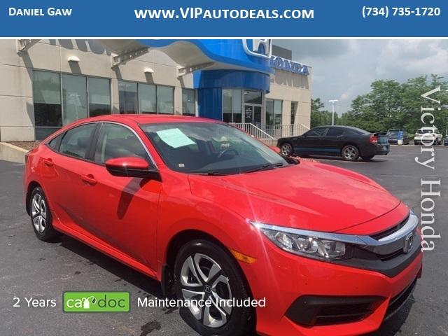 2018 Honda Civic LX for sale in Monroe, MI